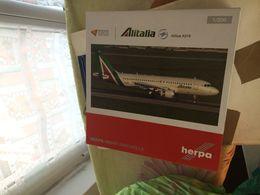STUPENDO MODELLINO 1:200 ISOLA DI PONZA HERPA AIRBUS A 319 - Luchtvaart