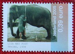 ELEPHANT Kunst In Bedrijfscollecties ART NVPH 2325 (Mi 2283) 2005 POSTFRIS/MNH ** NEDERLAND / NIEDERLANDE / NETHERLANDS - 1980-... (Beatrix)