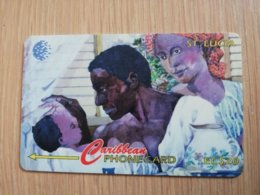 ST LUCIA    $ 20   CABLE & WIRELESS  STL-60A  60CSLA       Fine Used Card ** 2426** - Sainte Lucie