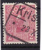 #12162 Norway, Norge 1909/1910, Stamp 2 Kr. Used, Michel 74: King Haakon VII. - Norwegen