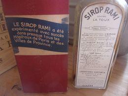 BOITE PHARMACIE Début 20eme - Boite De Médicament SIROP RAMI  RHUMES GUEROULT SURESNES - Boxes