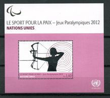 G39-10 Nations Unies  Jeux Paralympiques 2012 ** - Unused Stamps