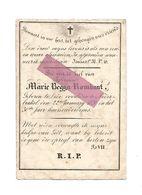 DD7. MARIE BEGGA ROMBAUT - °LEDE En Overleden Te NEDERBRAKEL 1836  (30j.) - Prentje : S. PHILIPPUS - Images Religieuses