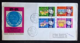 Lebanon Circulated FDC « U.P.U. », « Centenary Of Universal Postal Union », 1974 - Liban