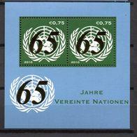 G39-10 Nations Unies  Bloc N° 20 ** - Vienna – International Centre