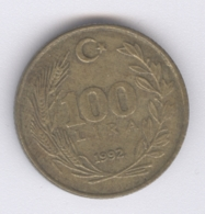 TURKEY 1992: 100 Lira, KM 988 - Turkey