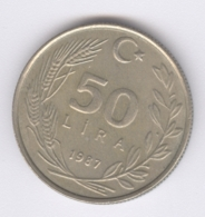 TURKEY 1987: 50 Lira, KM 966 - Turquie