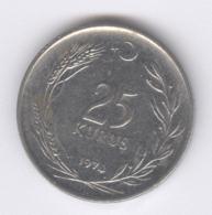 TURKEY 1974: 25 Kurus, KM 892 - Turquie