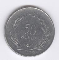 TURKEY 1973: 50 Kurus, KM 899 - Turquie