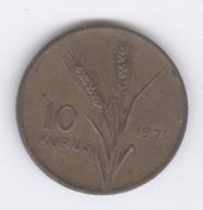 TURKEY 1971: 10 Kurus, KM 891 - Turquie