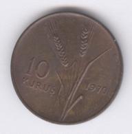 TURKEY 1970: 10 Kurus, KM 891 - Turquie