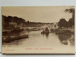 56 - HENNEBONT - LE PORT - VUE PRISE DU VIADUC - Ed MEHAT - TRES BEL ETAT - Hennebont