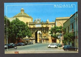 Italie - MARSALA - Porte Garibaldi - Nombreuses Voitures ( Esclusivista L. V. L. N° 25410 ) - Marsala