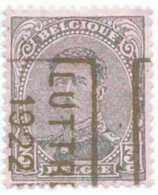 OCVB  N°  2896 B   LUTTRE 1922 - Préoblitérés