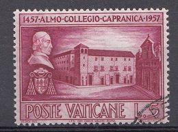 Vatikaan 1957  Mi.nr. 270 Collegio Capranica   OBLITÉRÉS-USED-GEBRUIKT - Vatican