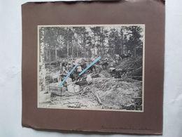 1915 Champagne Marne Convoi Muletier Munitions Mitrailleuses Abris Fortifications Tranchée Poilu Ww1 14-18 Photo - Guerra, Militari