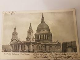 LONDON LONDRES LONDON BRIDGE - St. Paul's Cathedral