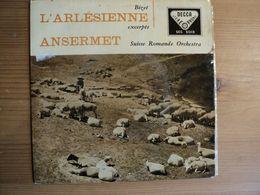 45 TOURS BIZET. DECCA SEC 5013. L ARLESIENNE. 1958? ERNEST ANSERMET PRELUDE / ADAGIETTO ET CARILLON. SUISSE ROMANDE ORC - Classical