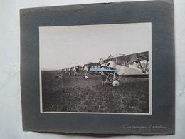1916 Bébé Nieuport Aviation Française Avion Chasse Pilotes Aérodrome Tranchée Poilu Ww1 14-18 1914 1918 Phot - Guerre, Militaire