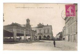 CASTELSARRASIN  LA HALLE ET L HOTEL DE VILLE - Castelsarrasin