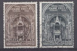 Vatikaan 1960  Mi.nr. 332-333 Römische Synode  OBLITÉRÉS-USED-GEBRUIKT - Oblitérés