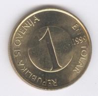SLOVENIA 1999: 1 Tolar, KM 4 - Slovenië