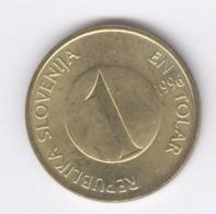 SLOVENIA 1996: 1 Tolar, KM 4 - Slovenia