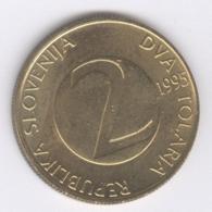 SLOVENIA 1995: 2 Tolarja, KM 5 - Slovenië