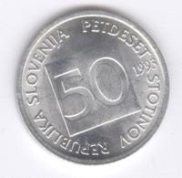 SLOVENIA 1993: 50 Stotinov, KM 3 - Slovenia