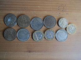 LOT DE 11 PIECES DE 10 FRANCS DIFFERENTES. 1945 / 1991 - K. 10 Francs