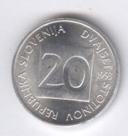 SLOVENIA 1993: 20 Stotinov, KM 8 - Slovenië
