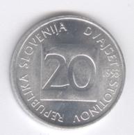 SLOVENIA 1993: 20 Stotinov, KM 8 - Slovenia