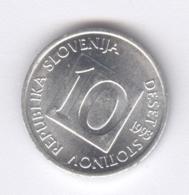 SLOVENIA 1993: 10 Stotinov, KM 7 - Slovenia