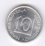 SLOVENIA 1993: 10 Stotinov, KM 7 - Slovenië
