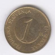 SLOVENIA 1992: 1 Tolar, KM 4 - Slovenië