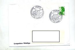 Lettre Cachet Huriel  Anniversaire Musique - Postmark Collection (Covers)