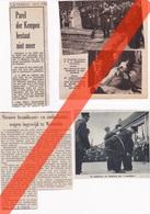 """WESTERLO - 9 TIJDSCHRIFT- EN KRANTENKNIPSELS OA OVER """"TRAWEITELEN"""" 16-EEUWSE KEGELDANS - Old Paper"""