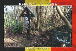 Carte Postale, REPRODUCTION, Asse (43), Flemish Brabant, Belgium - Bâtiments & Architecture