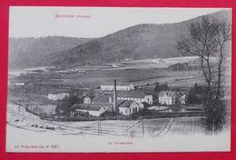 88 Senones La Poterosse 1914-17  Usine éditeur AD Weick à St Dié N°4367 Dos Scanné - Senones