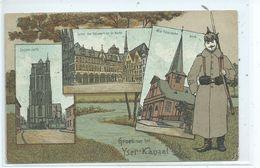 Ieper Ypres Eessen West Roosebeke Groet Van Het Yser Kanaal ( Soldat Allemand ) - Ieper