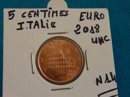 5 CENTIMES EURO ITALIE 2018 Unc ( 4 Photos ) - Italie