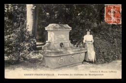 93 - GAGNY-FRANCEVILLE - FONTAINE DU CHATEAU DE MONTGUICHET - Gagny