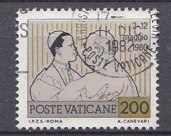 Vatikaan 1981  Mi.nr. 796 Weltreisen  OBLITÉRÉS-USED-GEBRUIKT - Vatican