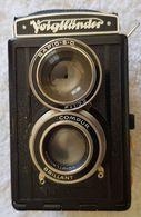 Appareil Photo Voigtländer BRILLANT + Sac Cuir + Posemètre + Accessoires - Macchine Fotografiche