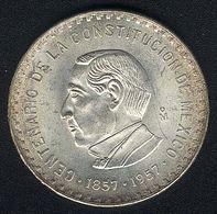 Mexiko, 10 Pesos 1957, Silber, KM 475, UNC - Mexico