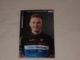 Justin Timmermans - Volkerwessels Merckx Cycling Team - 2020 (photo Kodak) - Ciclismo