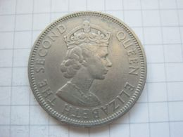 Mauritius , 1 Rupee 1956 - Mauritius