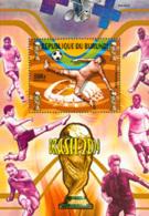 BURUNDI 2014 - Coupe Du Monde Brasil 2014 - BLOC 8500 BIF - Burundi