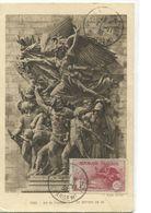 ORPHELINS (LA MARSEILLAISE) ( Yvert N° 231) Carte Maximum / 1938 /RR - Cartoline Maximum