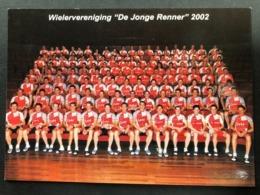 De Jonge Renner -  Team Card - 2002 - Carte / Card - Cyclists - Cyclisme - Ciclismo -wielrennen - Cycling